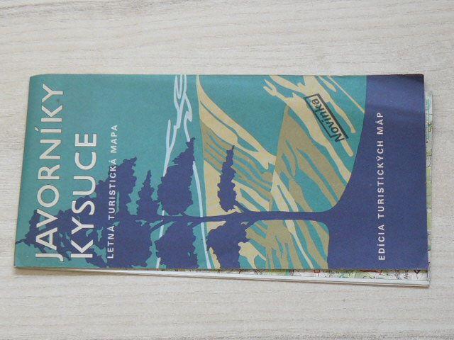 Edícia turistických máp - 1 : 100 000 - Javorníky - Kysuce - Letná turistická mapa (1984)