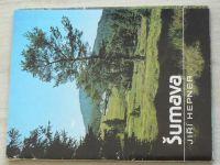 Hepner - Šumava (nedatováno) 33 barevných listů v obálce