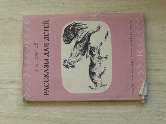 Толстой - Рассказы для детей (SPN Praha 1955) Povídky pro děti