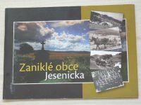 Zaniklé obce Jesenicka (2012)