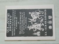 Zlaté Hory - Mezinárodní mistrovství české a slovenské republiky v rýžování zlata 11.-13.6 1993