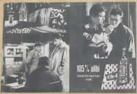 105 % alibi - Český detektivní film - plakát A4, oboustranný