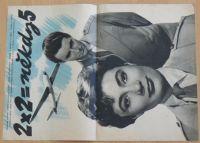 2 x 2 = někdy 5 - Maďarská filmová opereta o mladých letcích - plakát A3, oboustranný