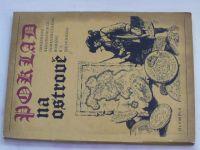 Poklad na ostrově - Obrázková rekonstrukce dobrodružného románu R.L.Stevensona (1970) il. G. Krum