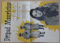 Případ Mauricius - Francouzské drama podle románu Jacoba Wassermanna - plakát A3