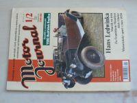 Motor Journal 1-2 (2007) ročník VII. (dvojčíslo)
