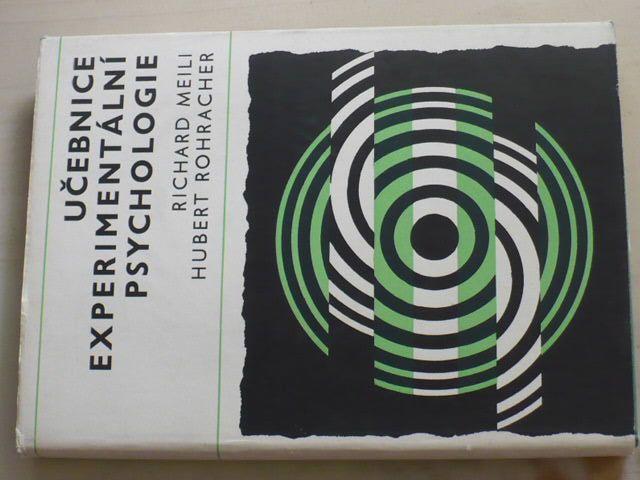 Meili - Učebnice experimentální psychologie (1967)
