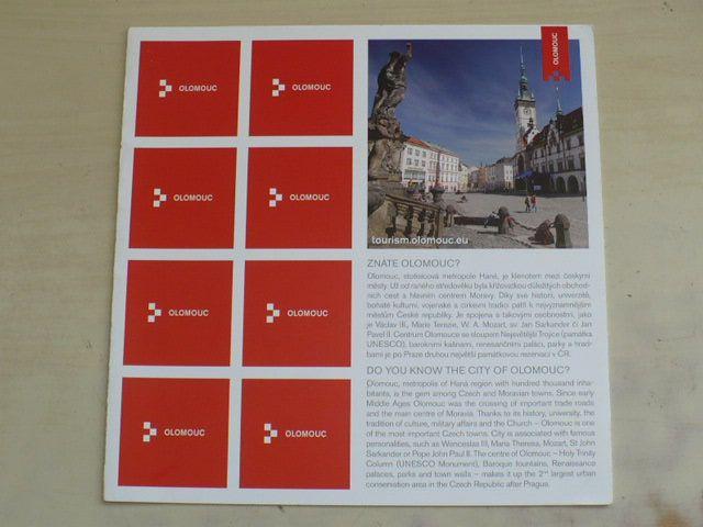 Pexeso Znáte Olomouc? (nedatováno)