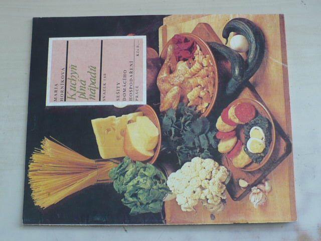Sešity domácího hospodaření - svazek 148 - Horníková - Kuchyň plná nápadů (1988)