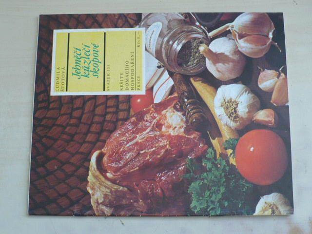 Sešity domácího hospodaření - svazek 151 - Štotová - Jehněčí kůzlečí skopové (1988)