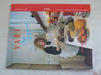 Sešity domácího hospodaření - svazek 168 - Pilarová - Vaří Eva Pilarová (1991)