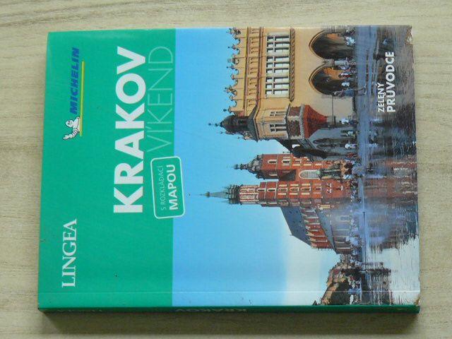 Zelený průvodce s rozkládací mapou - Krakov (2019)