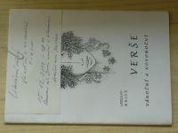 Ladislav Rusek - Verše vánoční i novoroční (2010) podpis autora