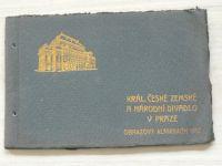 Král. české zemské a nádoní dovadlo v Praze - Obrazový almanach 1912