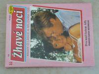 Žhavé noci 13 - Knihy o lásce a milování 100 - Mooreová - Dva muži kolem Alfy (1993)