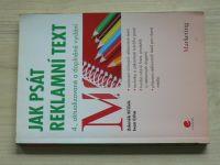 Křížek, Crha - Jak psát reklamní text (2012) 4. aktualizované vydání