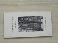 J. K. Hrubý - Sonetové věnce - Olomouc, Láska, Čas (2016) podpis autora