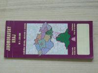 Jihomoravský kraj 1 : 220 000 - nabídka výroby, obchodu a služeb (2003)