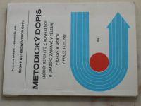 Metodický dopis - Sborník referátů z konference o úrazové zábraně v tělesné výchově a sportu (1982)