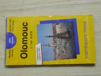 Plán města - 1 : 10 000 - Olomouc (1981)