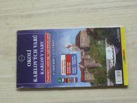 Plán města - 1 : 12 000 - Karlovy Vary, Okolí Karlových Varů 1 : 100 000 (2008)