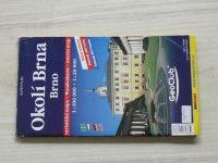 Super plán 1 : 20 000 Brno, okolí Brna 1 : 100 000 (2003)