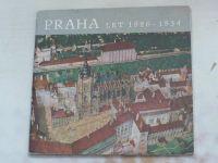 Praha let 1826 - 1834 v plastickém modelu Antonína Langweila (1962)