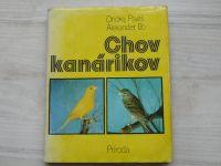 Pavliš, Ižo - Chov kanárikov (1978) slovensky