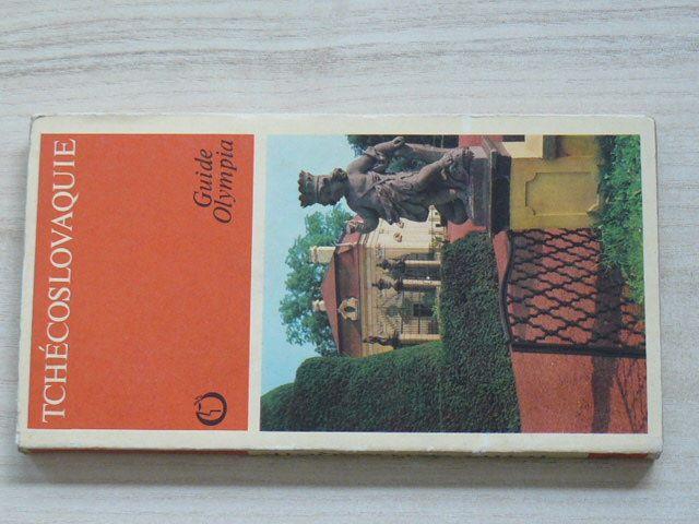 Guide Olympia - Nový, Adamec - Tchécoslovaquie (1976) francouzsky