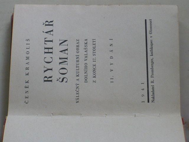 Kramoliš - Rychtář Šoman (1941)
