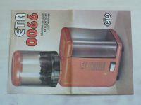 Návod k obsluze na elektrický kávomlýnek ETA 0066 (nedatováno)
