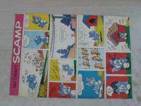Scamp (1967-68) 51 volných komiksových listů (slovensky)