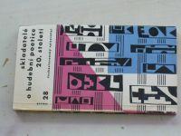 Skladatelé o hudební poetice 20. století (1960)
