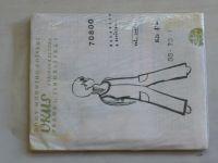 Vkus 70800 - Nohavice s životikom (nedatováno)