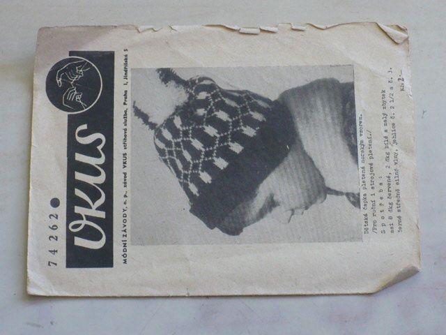 Vkus 74262 - Dětská čapka pletená norským vzorem (nedatováno)