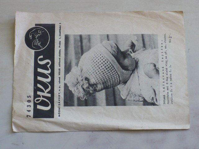 Vkus 74305 - Dětská háčkovaná čepička (nedatováno)