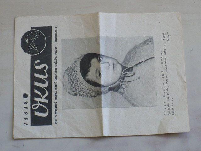 Vkus 74338 - Dívčí háčkovaná čapka (nedatováno)