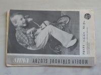 Vkus 75171 - Dětské pletené kalhoty s rozšířenými nohavicemi zdobené háčkováním (nedatováno)