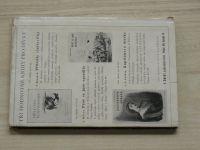 Hálek - Muzikantská Liduška (1945) litografie Mašek