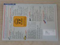 Turista 1-6 (1996) ročník XXXV. (chybí čísla 1, 3-4, 3 čísla)