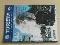 Turista 1-6 (1999) ročník XXXVIII. (chybí čísla 1, 4-5, 3 čísla)