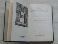 Malý, Novotný - Návrat Karla Hynka Máchy (1939)