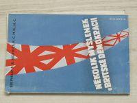 Nichols - Několik myšlenek o Britské demokracii (1947)