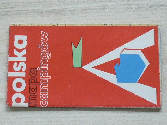 Polska - mapa campingów 1 : 75 000 (1975)
