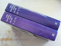 Dubský - Velký španělsko-český slovník I/A-H, II/I-Z (1993) 2 knihy