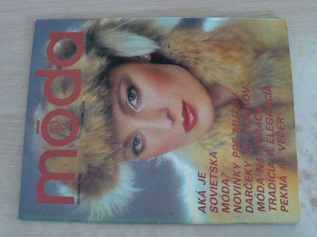 Móda 11 (1983) ročník XXXIII.