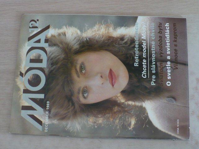 Móda 12 (1989) ročník XXXIX.