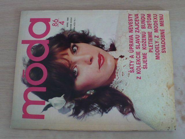Móda 4 (1986) ročník XXXVI.