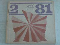 Umění a řemesla 1-4 (1981) chybí číslo 1 (3 čísla)