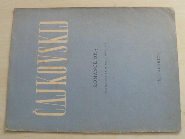 Čajkovskij - Romance Op. 5 (1947)